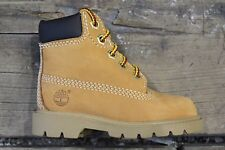 NEW UNISEX INFANT TIMBERLAND CLASSIC 6 INCH BOOTS 10860 WHEAT LEATHER/NUBUCK
