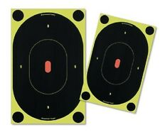 "Birchwood 7"" Oval Shoot-N-c Stick on Target Air Rifle High Viz"