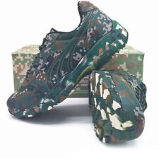 Camouflage Running Shoes For Men Light Army Outdoor Run Shoes Sports Sneakers
