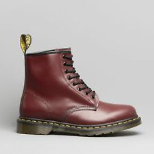Dr Martens 1460 Unisex Mens Womens Leather Classic 8 Eyelet Boots Cherry Red
