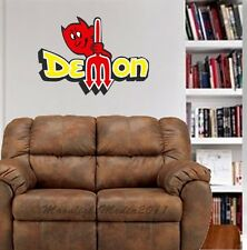 Vintage Dodge Demon WALL GRAPHIC FAT DECAL MAN CAVE OFFICE DECOR