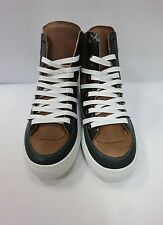 MM6 MAISON MARTIN MARGIELA Women Hi-Top Sneakers in Taupe/Green Color,More Size