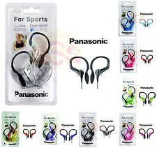 Panasonic RP-HS33E Sports Clip On In Ear Headphones for Sport Lovers 8 Colors