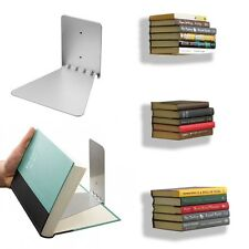 3pc Conceal Invisible Bookshelf Wall Mounted Floating Book Shelf Storage