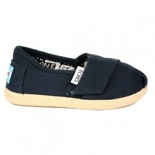 TOMS Tiny Toddler Navy Classic Canvas All Sizes Available BNIB