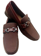Mens Dress Shoes Slip on Loafers Leather Lined + Free Shoe Horn Style# 1922A