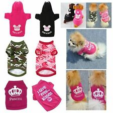Summer Puppy Small Dog Cat Pet Clothes Vest T Shirt Coat Various Pet FN