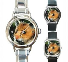 Italian Charm Metal Watch Round Square Hamster 2 art painting L.Dumas