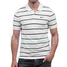 Nike AD Pique Stripe Polo Shirt  Mens Size