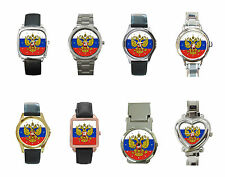 New Russian federation Coat of Arms flag Metal Watch Collection Free Shipping