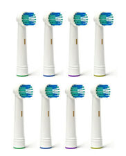 8 Pcs Electric Toothbrush Replacement Heads Compatible With Oral B Braun Models