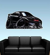 K.I.T.T. Knight Rider Car WALL GRAPHIC DECAL MAN CAVE BAR ROOM MURAL 9102 kitt