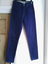 Duke Jeans womens tapered leg high rise stretch jeans size 14 W28-29