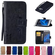 Luxury PU Leather Flip Wallet Cover Stand Card Holder Case For Samsung Galaxy