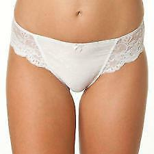 Bendon Body Lace High Cut Brief in Black, White