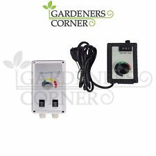 Hydroponics Fan Speed Controller for Grow Room Tent Extractor RVK & Box Fans