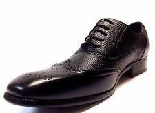 Men's Black Delli Aldo Dress Shoes Lace up Oxfords style with leather lining