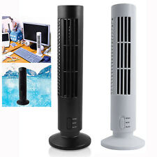 Portable Mini USB Tower Fan 2 Speeds Cooling Cooler Air Conditioner Fresher Home