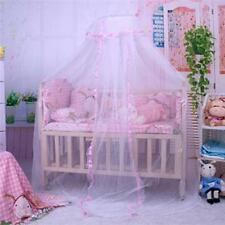 Cute Baby Princess Canopy Crib Netting Dome Bed Mosquito Net for Nursery MKLG