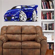 Lotus Espirit Sports Car WALL GRAPHIC DECAL MAN CAVE ROOM GARAGE #4971