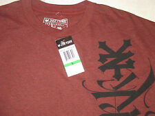 NWT Men's M L ZOO YORK ZY Logo T-SHIRTS Heather RED BLACK Blue New SKATE DC