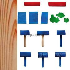 Wood Graining Rubber Painting Tool Various Pattern for Home Wall Decor Machine