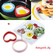 Silicone Omelette Shaper Fried Frying Mold Pancake Poach Egg Ring Cooking Mould