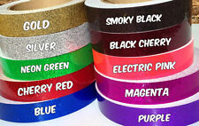 """1"""" Metallic Glitter Hula Hoop Tape - Many Colors to Choose From! Pick the Length"""