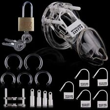3 Colors New US Male Chastity Device Belt W/ Plastic Lock & Locking Number Tags