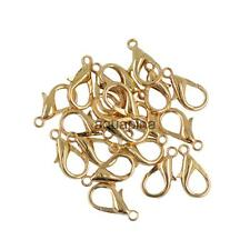 20pcs 18mm Lobster Claw Trigger Clasp Jewelry DIY Findings Supplies Bronze