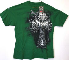 Tap Out TAPOUT UFC, Officially Licensed Dark Green Logo Design T Shirt T-Shirt