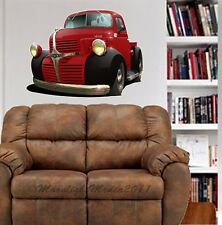 1947 Dodge Antique Truck WALL GRAPHIC DECAL MAN CAVE ROOM GARAGE 6634