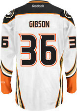John Gibson Anaheim Ducks NHL Away Reebok Premier Hockey Jersey