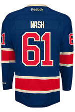 Rick Nash New York Rangers NHL Third Reebok Premier Hockey Jersey