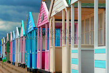 Southwold Beach Huts, Southwold, Suffolk colour print by Andy Evans Photos