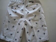 NWT IZOD Big & Tall Lobster Print Chino Beachtown Shorts Waist Extender
