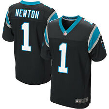 Carolina Panthers #1 Cam Newton NFL Premier Football  Jersey Blk New w/Tag