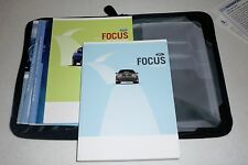2010 FORD FOCUS OWNERS MANUAL SET guide 10 w/case