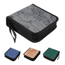 40 Disc Map CD DVD Storage Holder Sleeve Case Box Wallet Bag Album Zipper HP