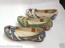 Ballerina TMA 5088 3 Size 36-42 Leather Footbed,Gel sole Slip On Shoes