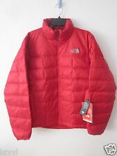 NWT The North Face Thunder 800 Down Fill Puffer Jacket $249 Mens Sz M TNF Red