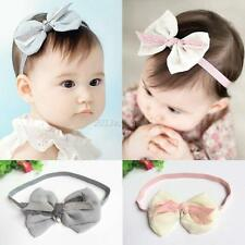 Girl Baby Toddler Infant Flower Headband Hair Bow Band Hair Accessories 2 Colors