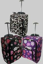 Super Lightweight Hand Luggage Wheeled Travel suitcase Trolley Cabin Case Bag