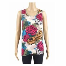 Ex Chainstore Summer Floral Print Vest Top Ladies Holiday Size 10 12 14 16 18