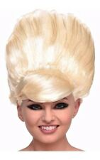 BLONDE BEEHIVE WIG 1960S ADULT WOMENS COSTUME ACCESSORY