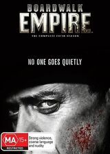 BRAND NEW Boardwalk Empire The Complete Fifth Season 5 SEALED R4 DVD