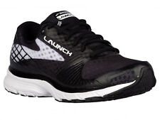 NEW WOMENS BROOKS LAUNCH 3 RUNNING SHOES TRAINERS BLACK / WHITE