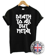 DEATH TO ALL BUT METAL Steel Panther Slogan T Shirt S-XXL Funny Mens Womens