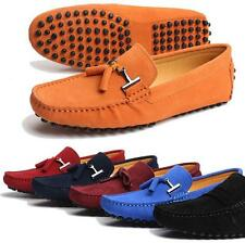 11 Color US Size7-11.5 Men's tassels leisure suede lined Loafer driving shoes