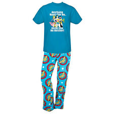 DC Comics Wonder Woman Lounge Pants and T-Shirt Sleep Set